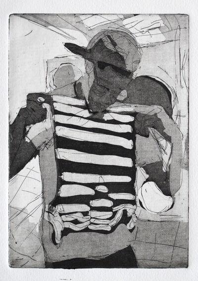 Dena Schutzer, 'Laundromat, Stripes', 2017