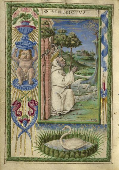 Taddeo Crivelli, 'Saint Benedict in Prayer', 1469