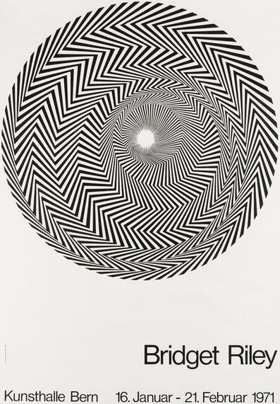 Bridget Riley, 'A poster for Blaze: Bridget Riley at Kunsthalle Bern, 1971', 1971