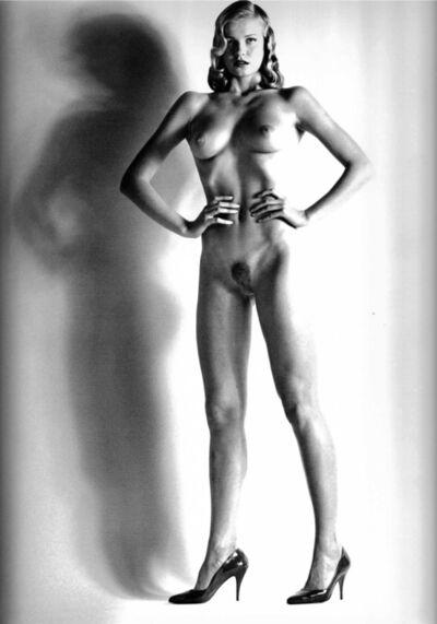 Helmut Newton, 'Big Nude XIV, Variation Smiling Baby Doll', 1981