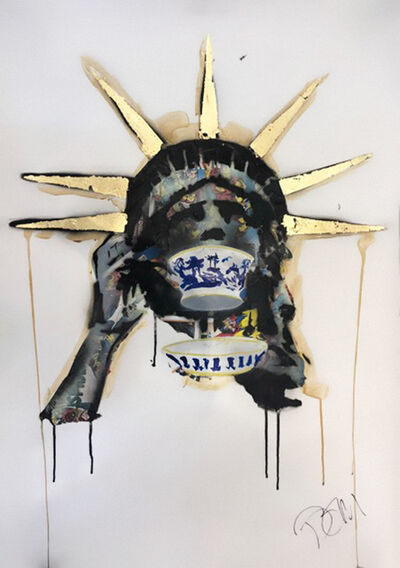 Dom Pattinson, 'Sipping Liberty I', 2018