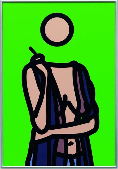 Julian Opie, 'Ruth With Cigarette 5', 2005