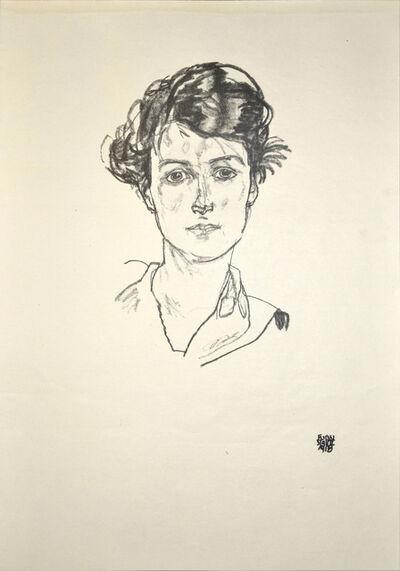Egon Schiele, 'Portrait of a Young Woman', 1920