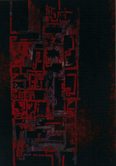 Wang Huai-Qing, 'Red Shadow in the Candle Light-3', 2008-2013