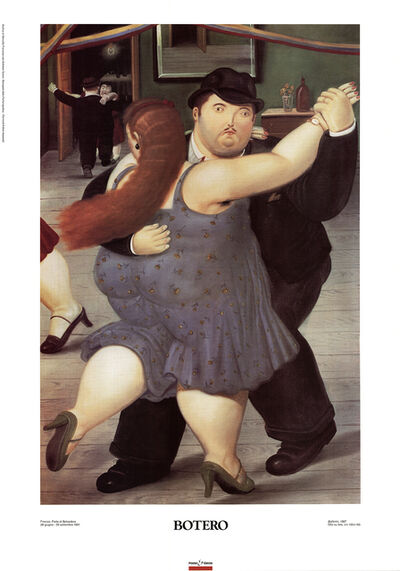 Fernando Botero, 'The Dancers', ca. 2000
