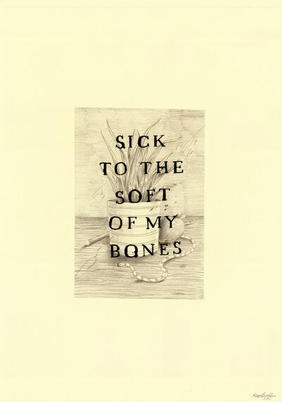 Keaton Henson, 'The Soft of My Bones', 2016