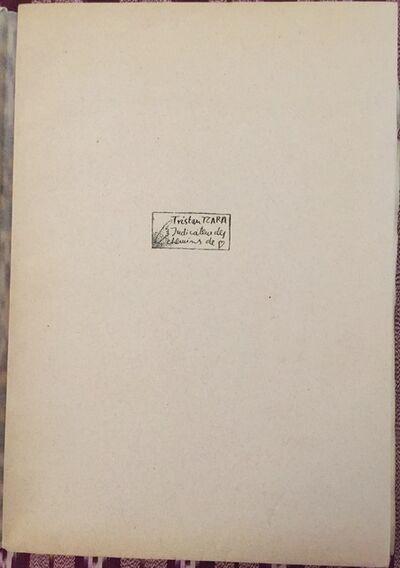 Tristan Tzara, 'Indicateur des Chemins de Coeur', 1928