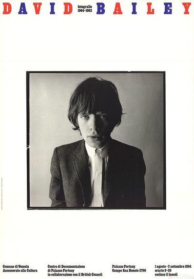 David Bailey, 'Mick Jagger', 1984