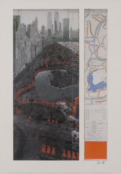 Christo and Jeanne-Claude, 'THE GATES, PROJECT FOR CENTRAL PARK, XXXVII, NEW YORK CITY; THE GATES, CENTRAL PARK NEW YORK CITY 1979-2005', 2004 and 2005