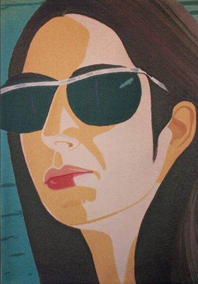 Alex Katz, 'Ada with Sunglasses'