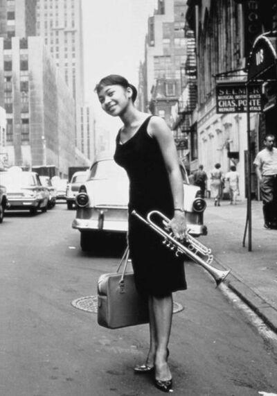 William Claxton, 'Mrs. Donald Byrd, N.Y.C.', 1960