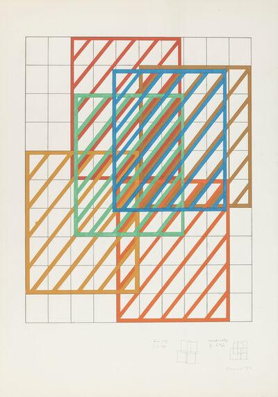 Dóra Maurer, 'Displacement I-II/II', 1972