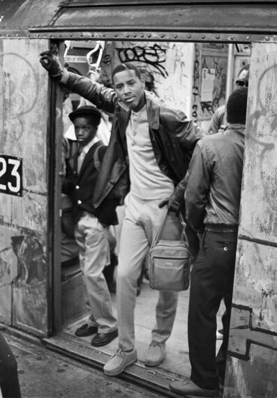 Jamel Shabazz, 'Morning Rush Hour, Brooklyn, NYC', 1980