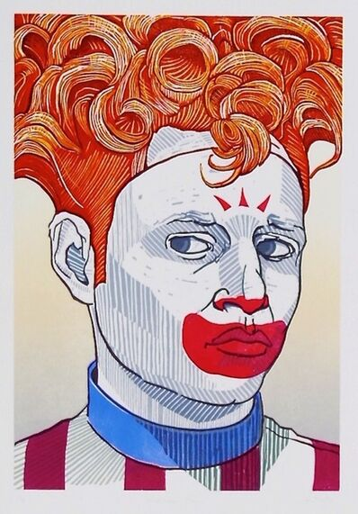 Aaron Brooks, 'Suspicious Clown ', 2014