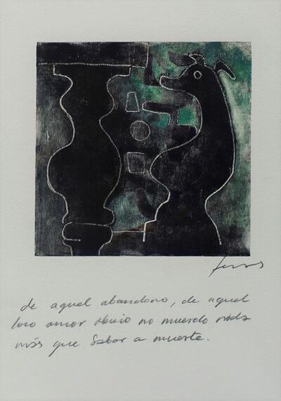 Damián Lescas, 'De aquel abandono, de aquel loco amor, obvio no muerdo, nada más que sabor a muerte', 2019