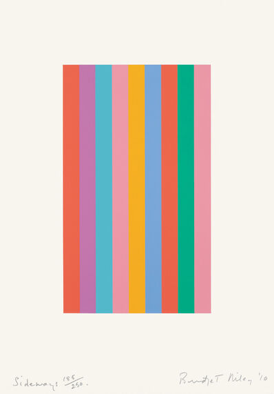 Bridget Riley, 'Sideways', 2011