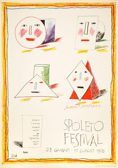 David Hockney, 'SPOLETO FESTIVAL - DAVID HOCKNEY - SIGNED BY ARTIST', 1976