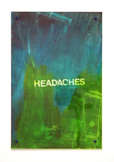 Sara Greenberger Rafferty, 'Headaches 4', 2017