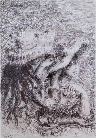 Pierre-Auguste Renoir, 'Le Chapeau Epingle', 1894