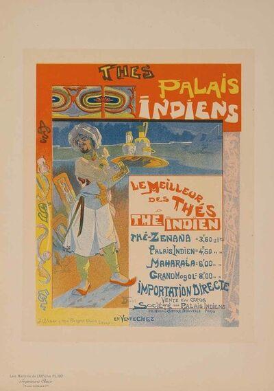 Georges de Feure, 'Indian Palaces Teas (Plate 199)', 1900