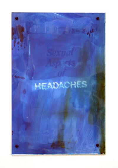 Sara Greenberger Rafferty, 'Headaches 5', 2017