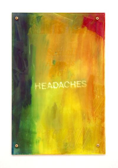 Sara Greenberger Rafferty, 'Headaches 3', 2017