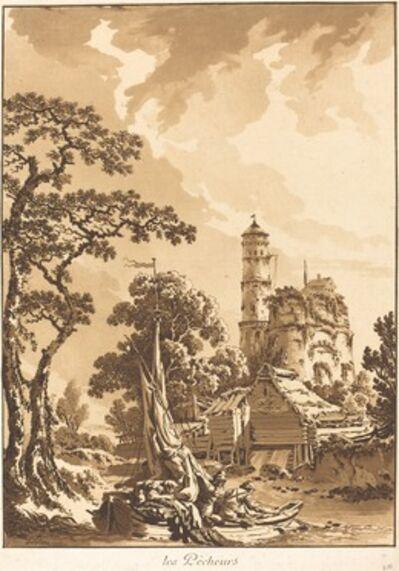 Jean-Baptiste Le Prince, 'Les Pecheurs (The Fishermen)', 1771
