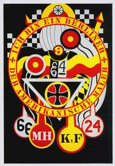 Robert Indiana, 'The Hartley Elegies: The Berlin Series - KvF 3', 1990