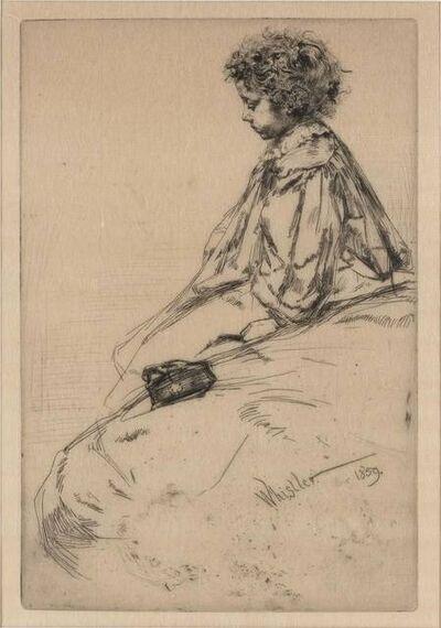 James Abbott McNeill Whistler, 'BIBI LALOUETTE (K. 51; G. 33)', 1859