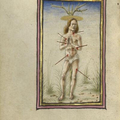 Taddeo Crivelli, 'The Martyrdom of Saint Sebastian', 1469