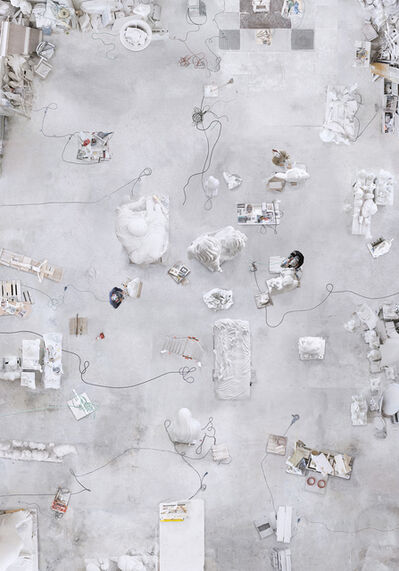 Katrin Korfmann, 'Back Stages Marble Carrara', 2017