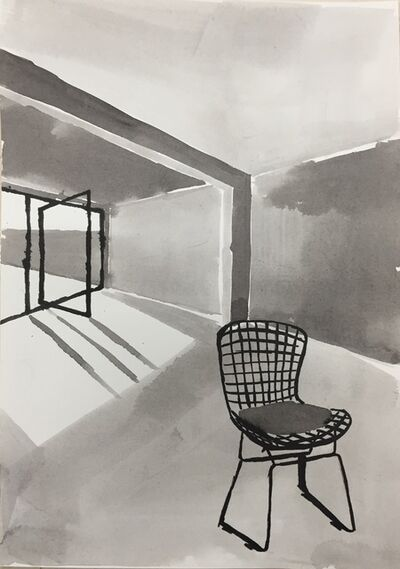 Sara Berman, 'Ink Rooms 6', 2017