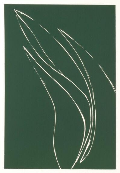Donald Sultan, 'French Iris I', 1982