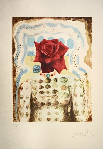 Salvador Dalí, 'Surrealist Flower Girl, from Memories of Surrealism. ', 1971