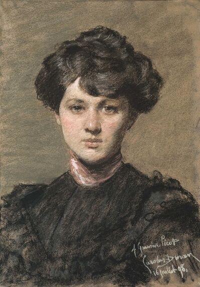 Charles Auguste Émile Carolus-Durand, 'Portrait de Geneviève Picot'