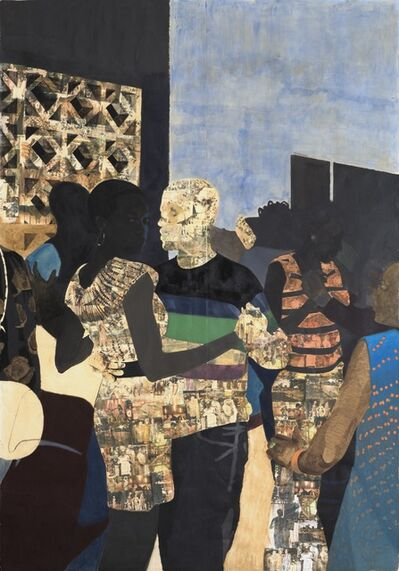 Njideka Akunyili Crosby, 'I Refuse to be Invisible', 2010