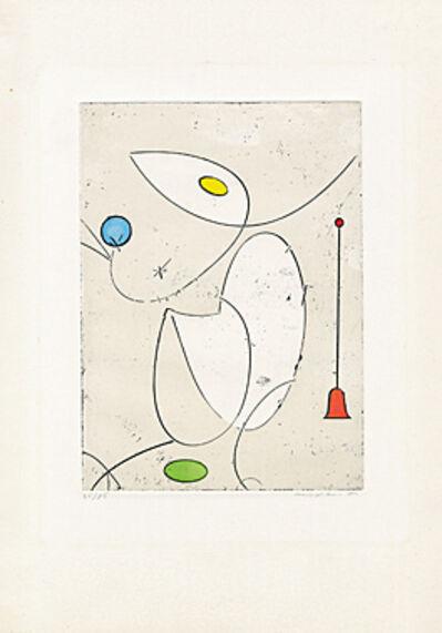 Max Ernst, 'La cloche rouge', 1970