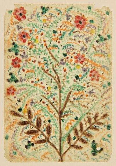 Minnie Evans, 'Untitled (Flowering Tree) ', ca. 1942
