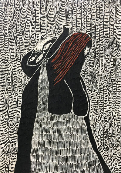Summer Wheat, 'Breadwinner with Fish', 2018