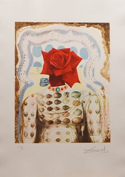 Salvador Dalí, 'Memories of Surrealism Surrealist Flower Girl', 1971