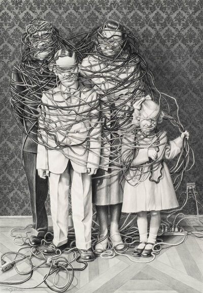Laurie Lipton, 'Wrapt', 2016