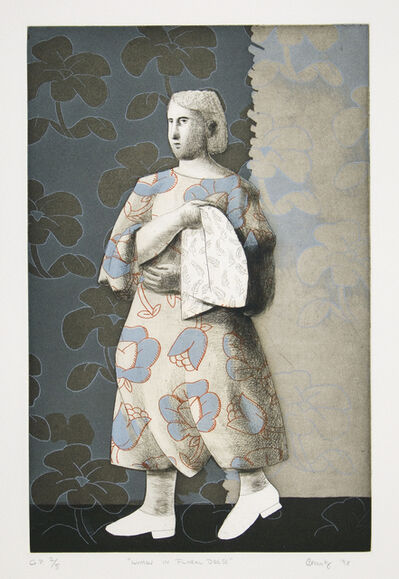 Brian Novatny, 'Woman in Floral Dress', 1998