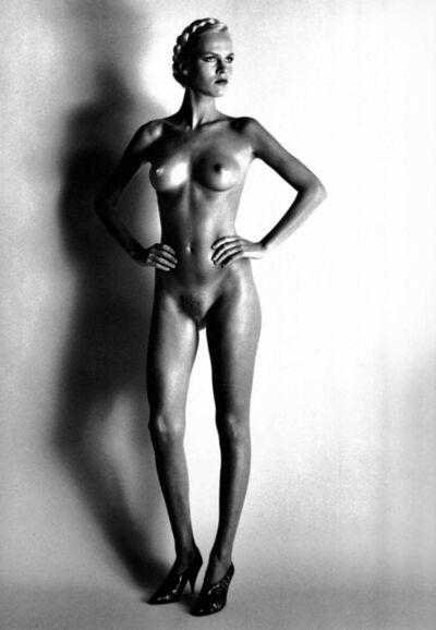 Helmut Newton, 'Big Nude I, Paris', 1980