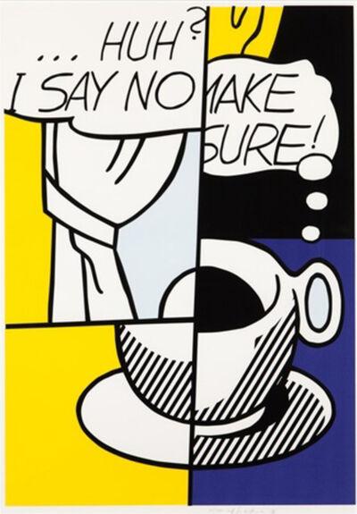Roy Lichtenstein, '... Huh ?', 1976