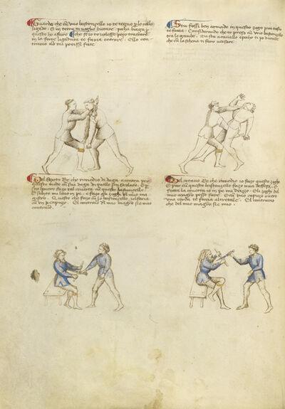 Fiore Furlan dei Liberi da Premariacco, 'Combat with Rondel and Dagger', 1410