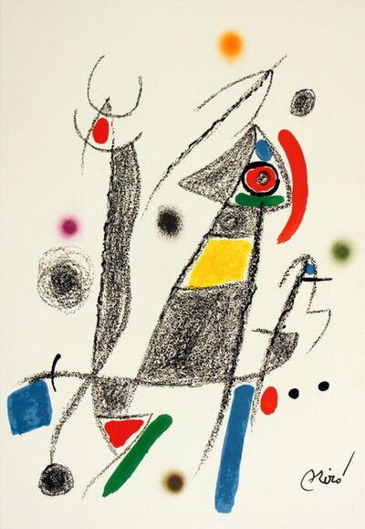 Joan Miró, 'Maravillas #1058', 1975
