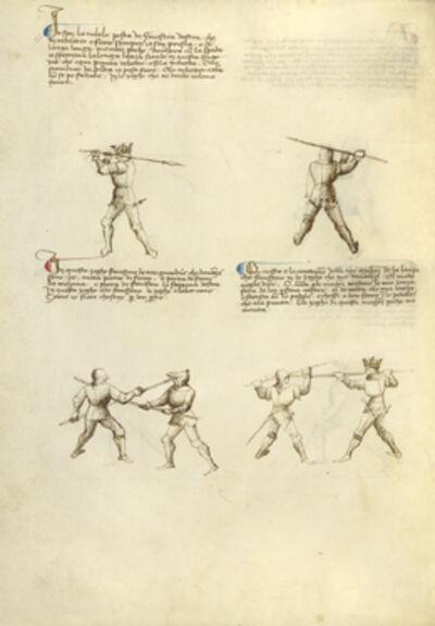 Fiore Furlan dei Liberi da Premariacco, 'Combat with Lance', 1410