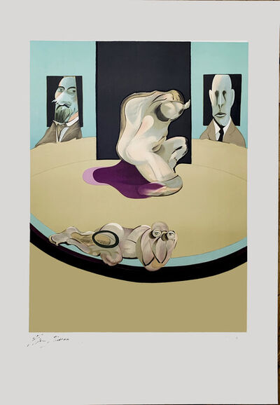 """Francis Bacon, '""""The Human Body (Study for the Metropolitan Museum of Art)""""', 1975"""