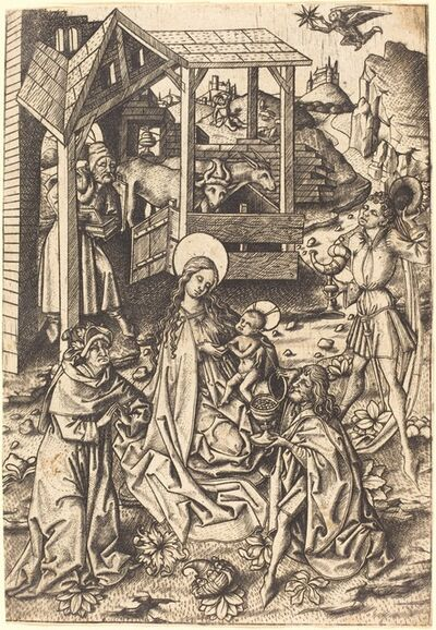 Master E.S., 'The Adoration of the Magi'