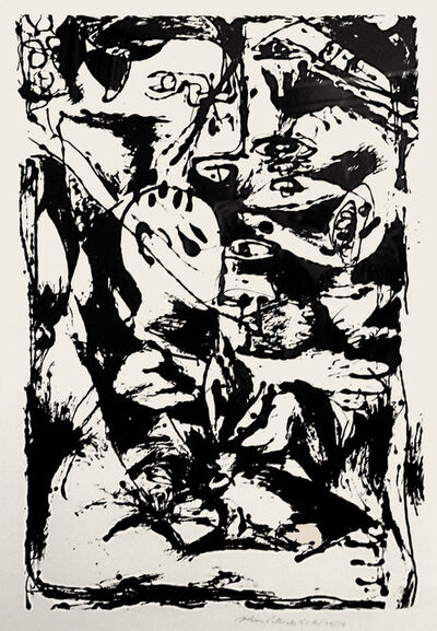 Jackson Pollock, 'Untitled (After CR#340)', 1950
